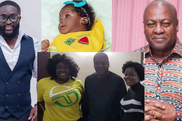 THE FATHER OF TRACY BOAKYE'S CHILD FINALLY REVEALED BY OLD FRIEND